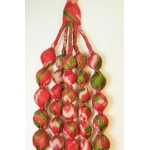 House of Wandering Silk - Vintage Silk Necklace (Peach)