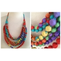 Vintage Silk Necklaces