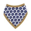Nautical Bib - Blue